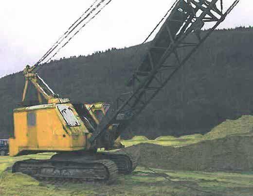 dragline WESERHÜTTE SW120