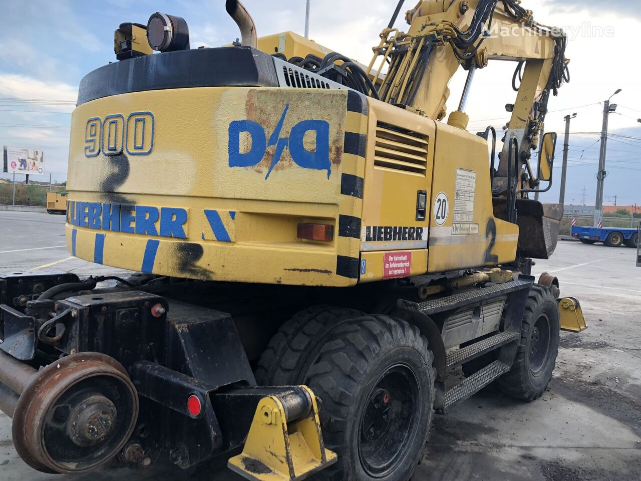 excavator cale ferate LIEBHERR ZW A 900 Litronic