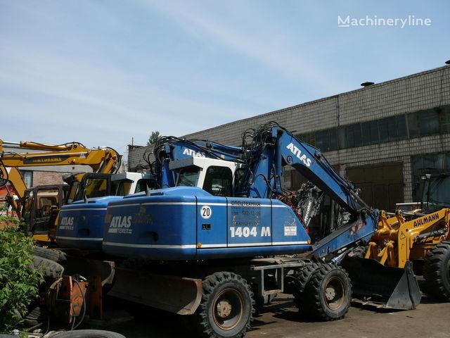 ATLAS 1404 excavator pe roţi