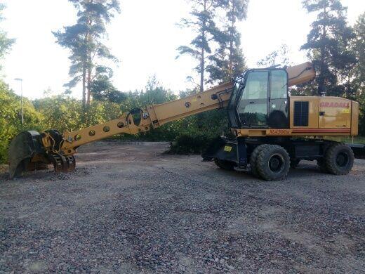 GRADALL XL4300III excavator pe roţi