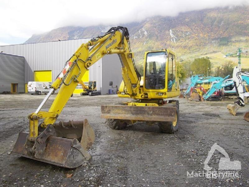 KOMATSU PW 110 R excavator pe roţi