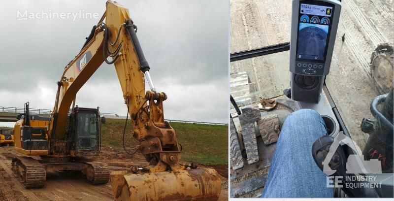 CATERPILLAR 320 EL excavator pe şenile