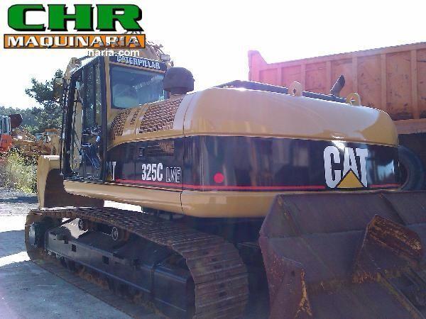 CATERPILLAR 325C excavator pe şenile