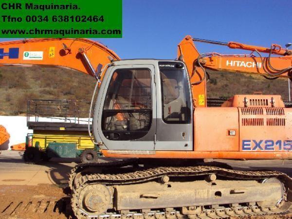 FIAT-HITACHI EX215 excavator pe şenile