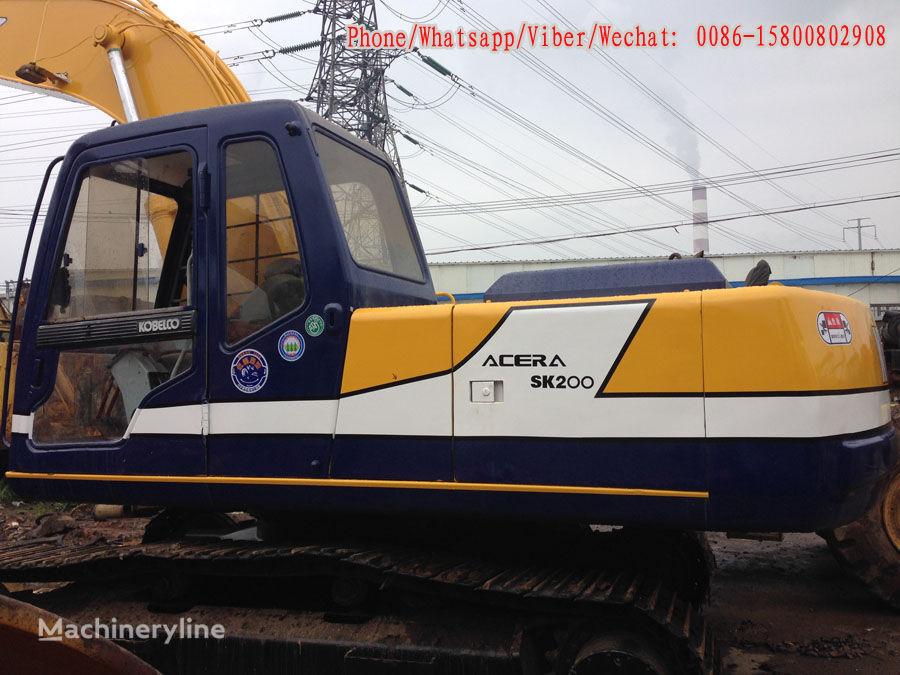 KOBELCO SK200-3 excavator pe şenile