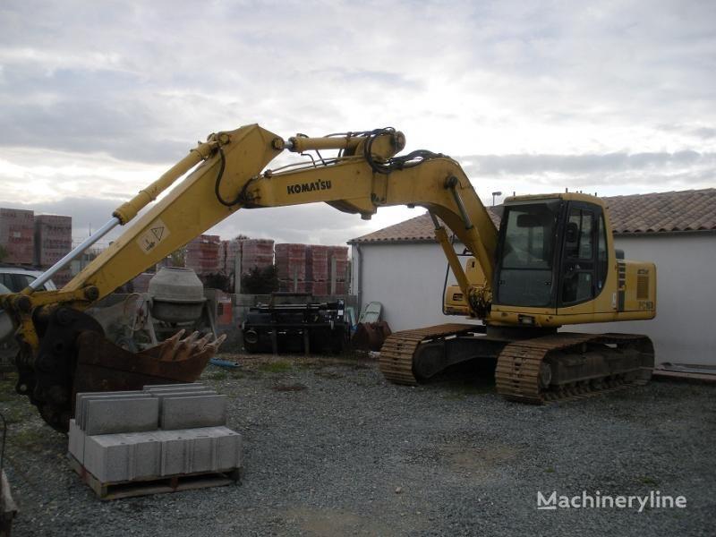 KOMATSU PC 160 LC-6K excavator pe şenile