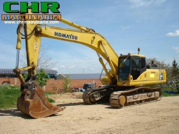 KOMATSU PC340-7 excavator pe şenile