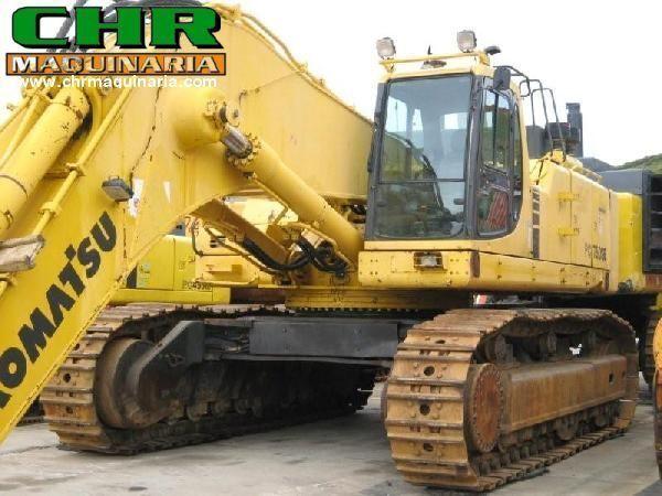 KOMATSU PC750-6 excavator pe şenile