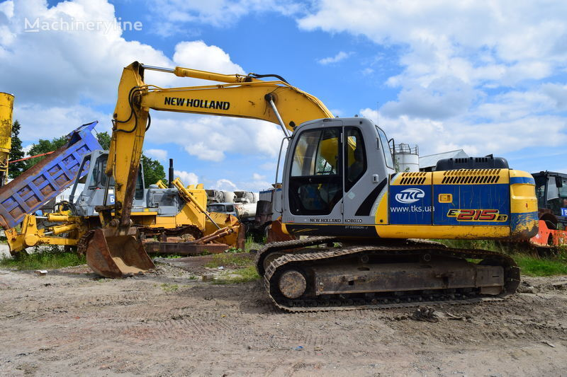NEW HOLLAND E215B excavator pe şenile