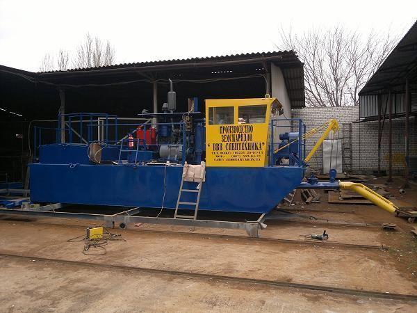 NSS 160/30-F excavator plutitor nou
