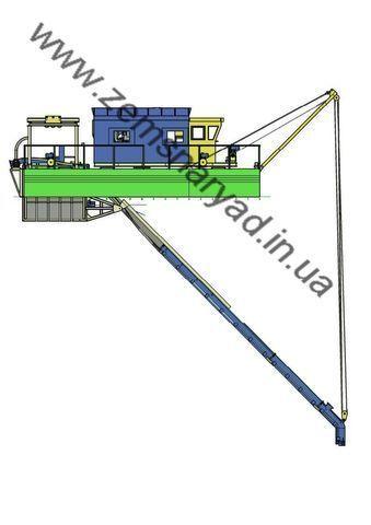 NSS Zemsnaryad 800/40-K-GR excavator plutitor nou