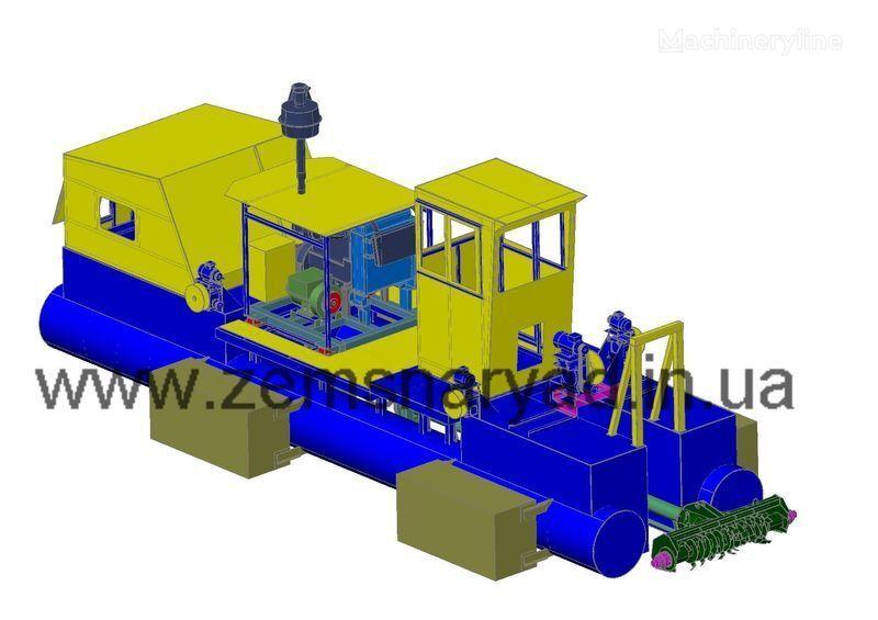 NSS Zemsnaryad NSS 240/30-F excavator plutitor nou