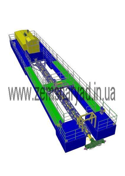 NSS Zemsnaryad NSS 400/20-F-K excavator plutitor nou