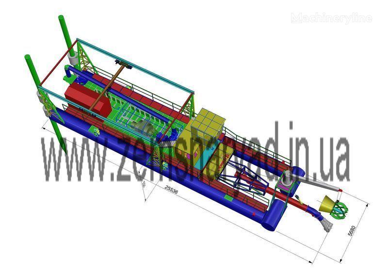 NSS Zemsnaryad NSS 6000/70-F-GR-E excavator plutitor