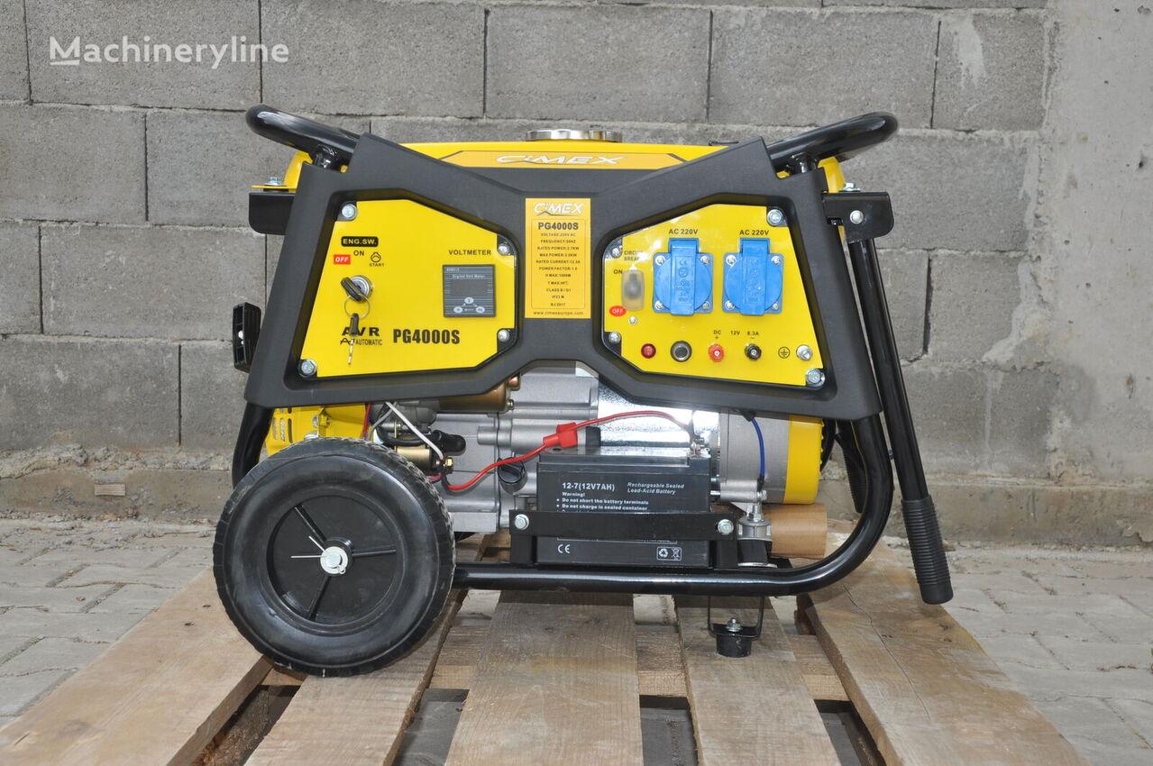 generator Petrol Generator 3.0 kW CIMEX PG4000S nou