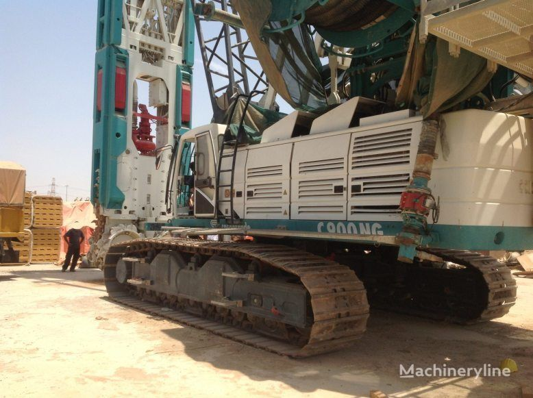 CASAGRANDE FD90 on C900 crane  EXCELLENT CONDITION!!! maşină de foraj
