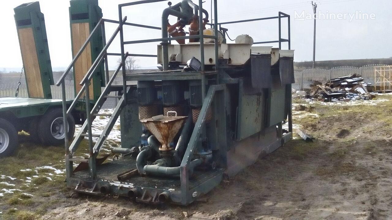 VERMEER  Mud recycling unit Basic Fabrication MCS 260 maşină de foraj
