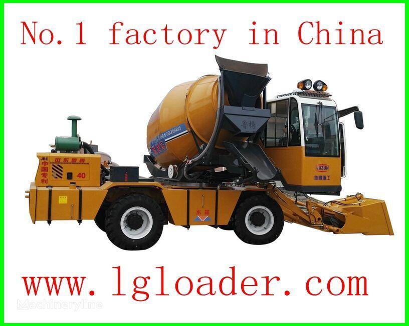 maşină de marcaje rutiere selfloading concrete mixer2 nou