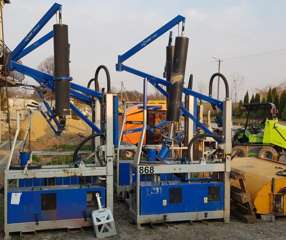 masina de montat pavele OPTIMAS PROBST JUMBO + AL VAC 1600 - 5 sztuk