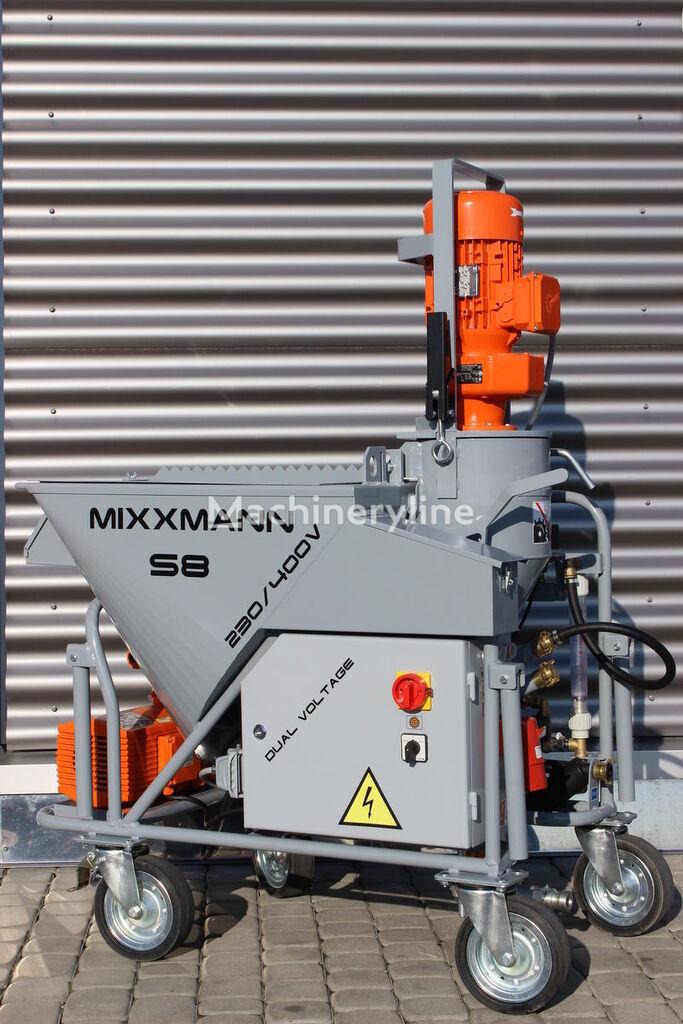 maşină de tencuit MIXXMANN S8 230/400V nou