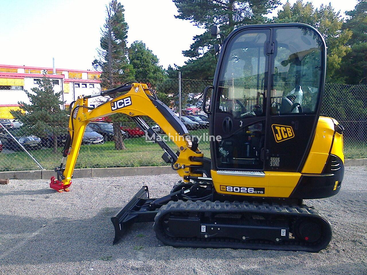 miniexcavator JCB 8026 CTS nou