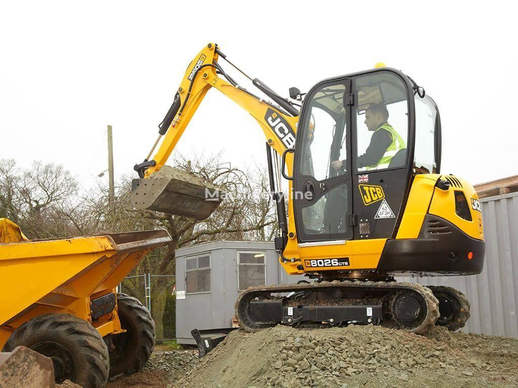 miniexcavator JCB 8026 CTS