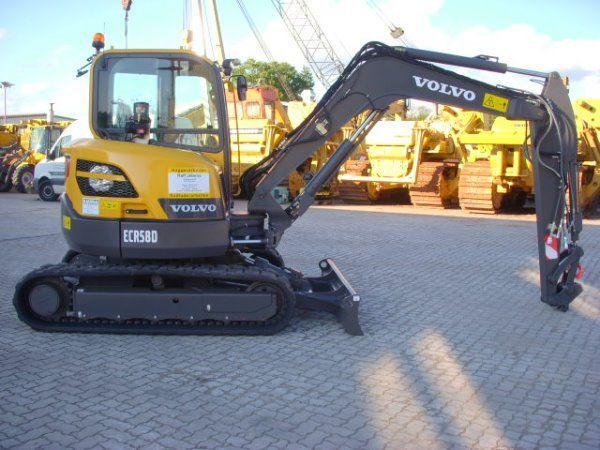 VOLVO ECR58D miniexcavator