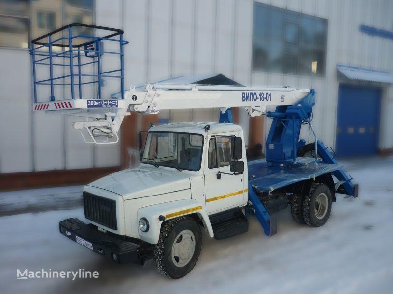 GAZ 3309 nacelă pe camion