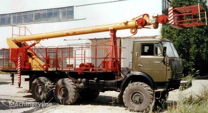 KAMAZ TV-32 nacelă pe camion