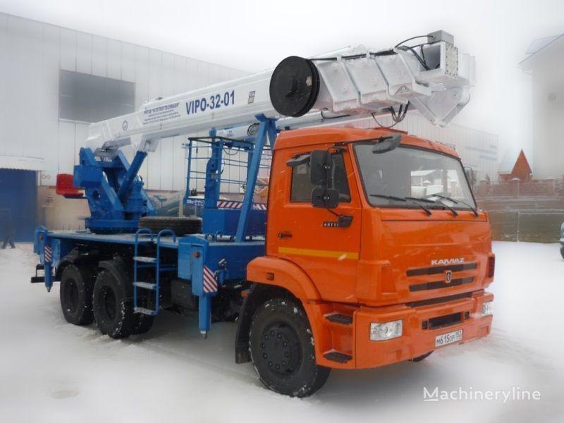 KAMAZ VIPO-32  nacelă pe camion