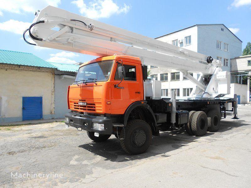 KAMAZ VS-32  nacelă pe camion