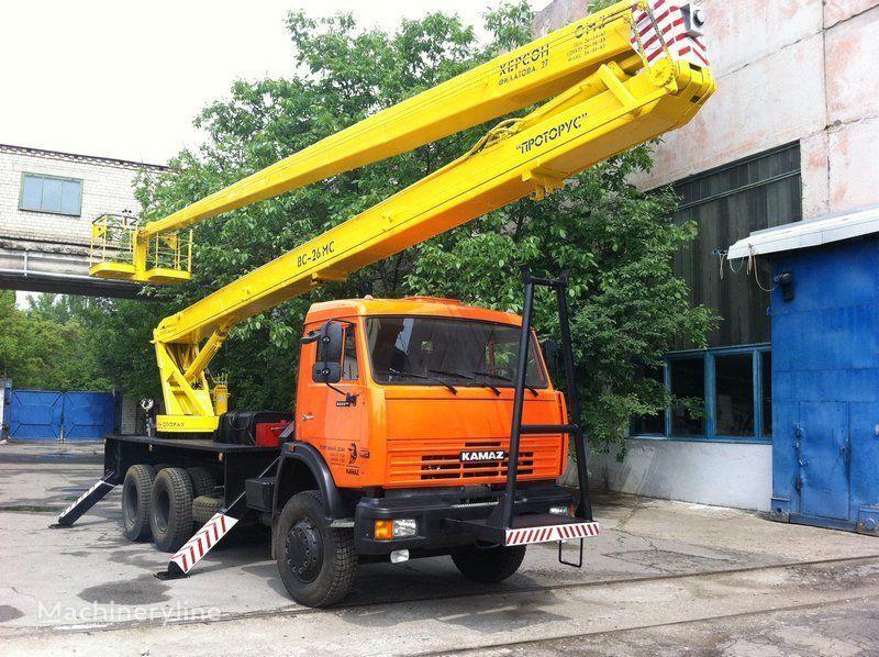 KAMAZ VS—26  nacelă pe camion