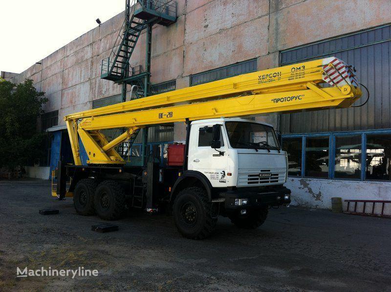 KAMAZ VS—28  nacelă pe camion