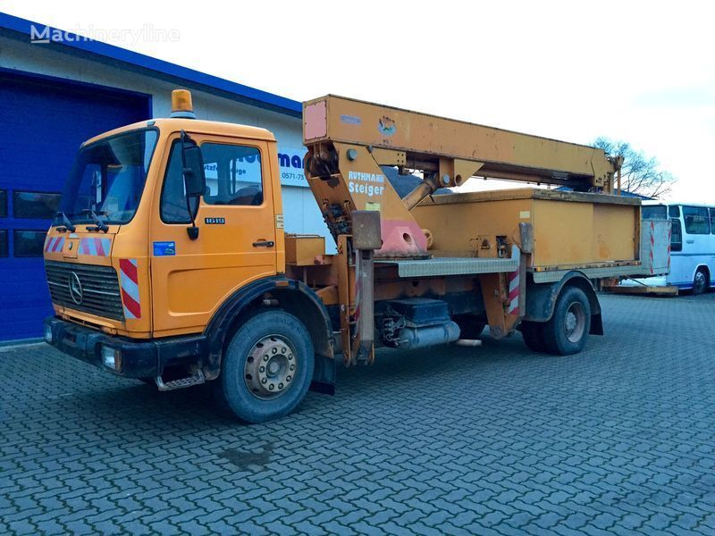 MERCEDES-BENZ SK 1619 KO nacelă pe camion