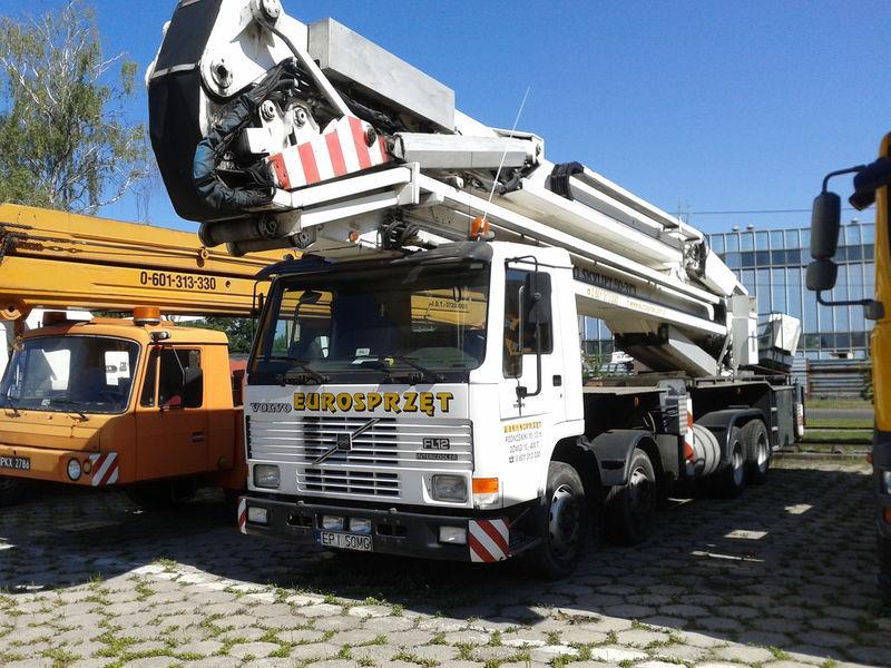 VOLVO BRONTO SKYLIFT 50-3T3 nacelă pe camion