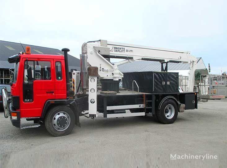 VOLVO FL-614 4X2WD nacelă pe camion