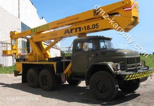 ZIL 131 nacelă pe camion