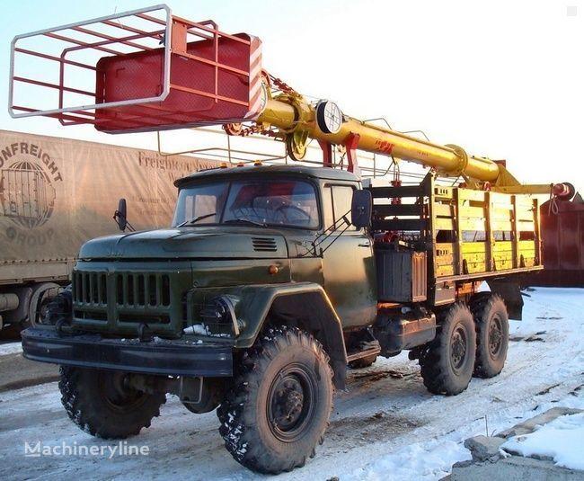 ZIL TV-26E nacelă pe camion