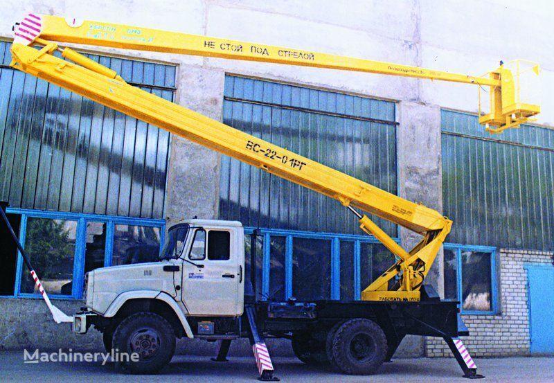 ZIL VS—22-01  nacelă pe camion
