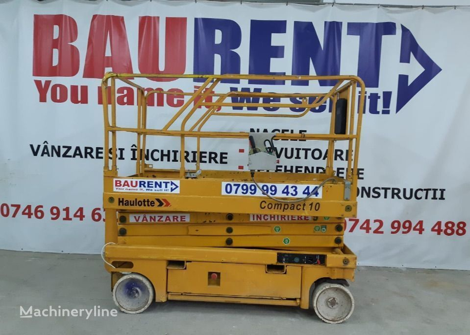 platforma foarfeca HAULOTTE Compact 10 - 2006