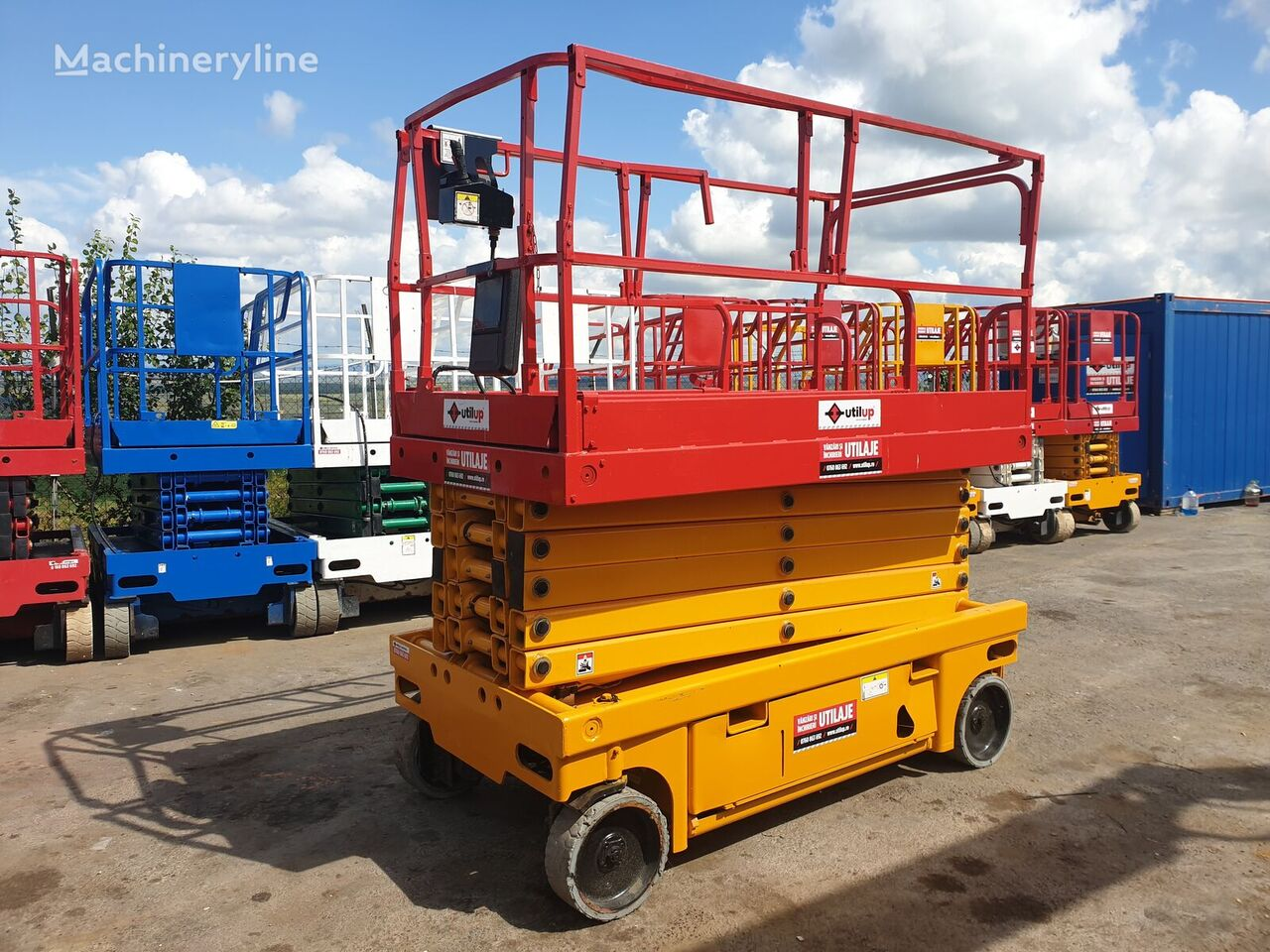 platforma foarfeca HAULOTTE Compact 14