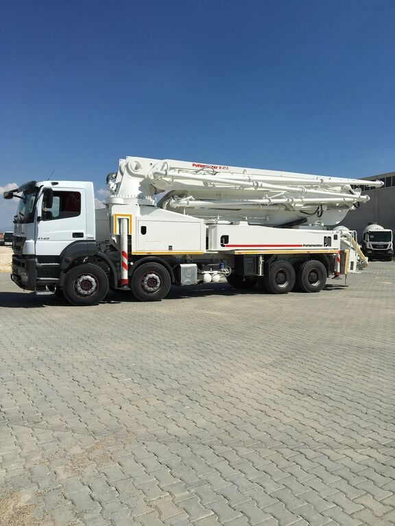 pompă de beton MERCEDES-BENZ 2014 MODEL 4140 PUTZMEISTER 47 MT, 4775 HOURS