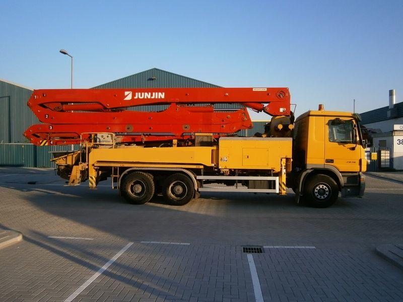 MERCEDES-BENZ 2636, JUN-JIN 37/4M pompă de beton