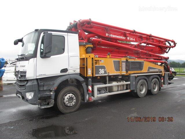 pompă de beton PUTZMEISTER BSF 36.16 H (IN 3308)