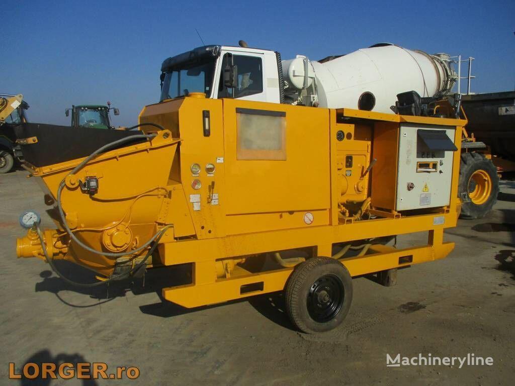 pompă staţionară pentru beton PUTZMEISTER BST 1002 D-SV