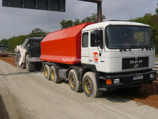 Amag hook lifter reciclare asfalt