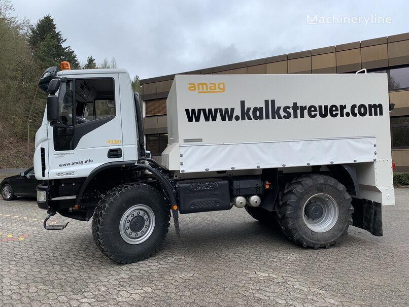 reciclare asfalt IVECO Spreader 12 cbm nou