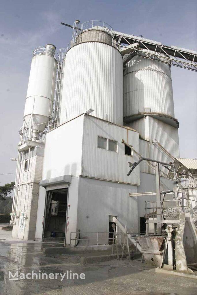 staţie de beton LIEBHERR Liebherr/PematDouble tower - concrete mixing plant