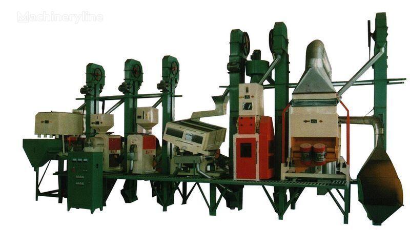 Risovyy zavod Kitay 18 - 150 tonn v sutki utilaj industrial nou