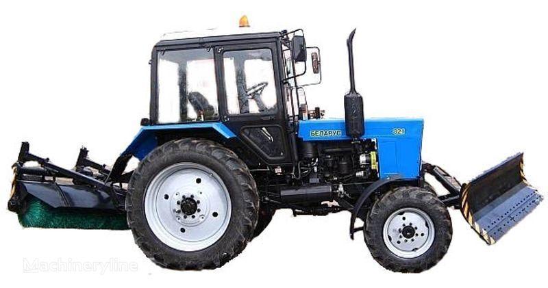 MTZ BAM-2 (otval+shchetka)na traktorah MTZ alte vehicule municipale